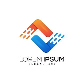 Nowa ikona logo tecngnology