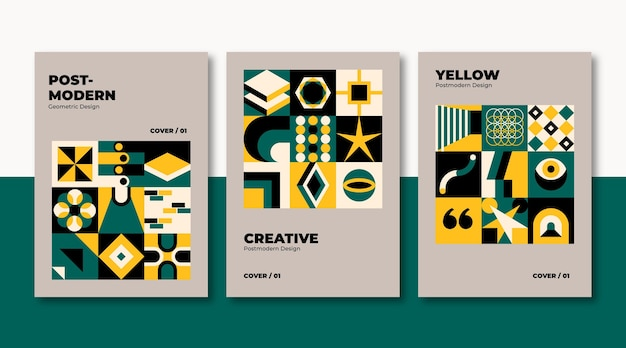 Nowa kolekcja okładek biznesowych w estetyce modernizmu