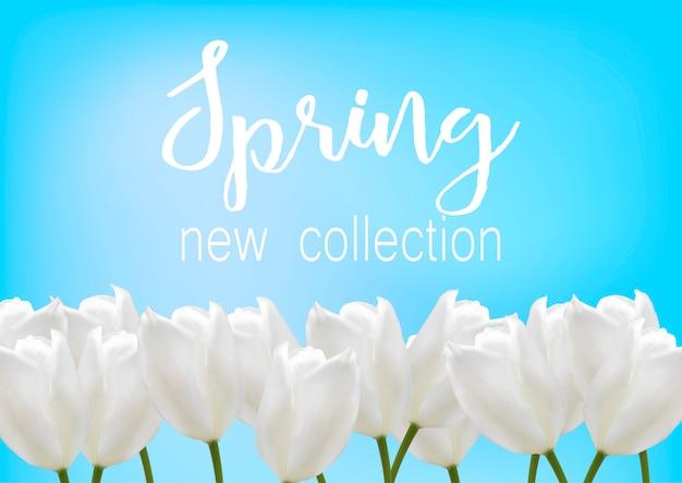 Nowa kolekcja z kwiatami.