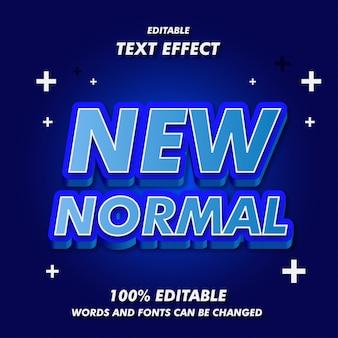 Nowe normalne efekty tekstowe