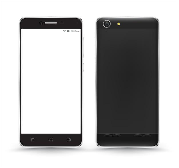 Nowe realistyczne makiety telefonów komórkowych