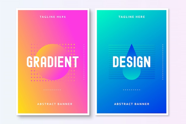 Nowoczesna abstrakcja broszura