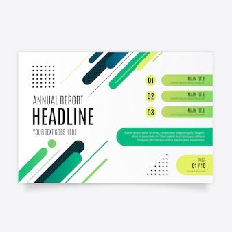 Nowoczesna broszura biznesowa