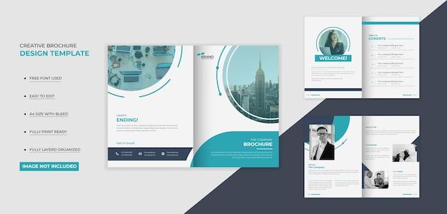 Nowoczesna broszura na okładki firmy design