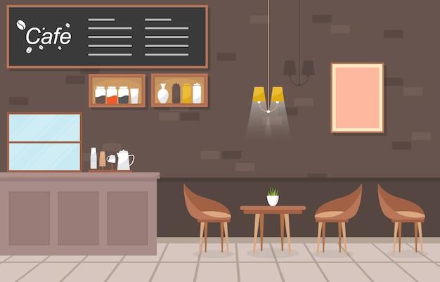 Nowoczesna kawiarnia kawiarnia wnętrze meble restauracja