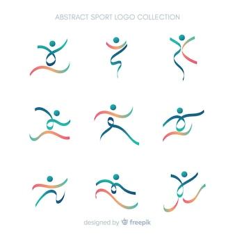 Nowoczesna kolekcja logotypów sportowych