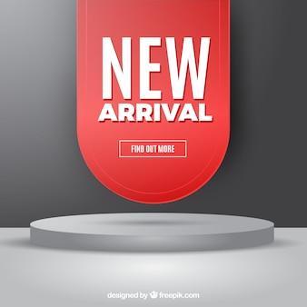 Nowoczesna kompozycja new arrival z realistycznym designem