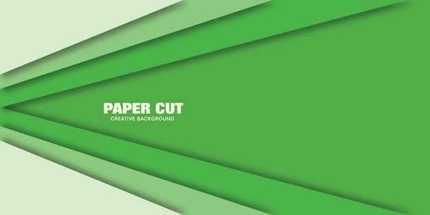 Nowoczesna koncepcja linii, ilustracji wektorowych stylu cięcia papieru na baner.