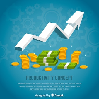Nowoczesna koncepcja produktywności z płaską konstrukcją