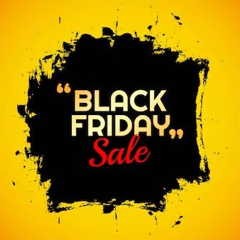 Nowoczesna koncepcja sprzedaży w czarny piątek