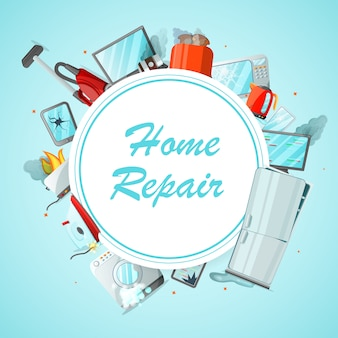 Nowoczesna koncepcja usługi naprawy mieszkania