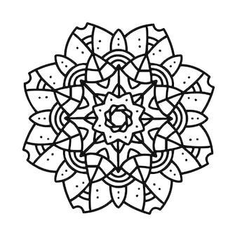 Nowoczesna mandala