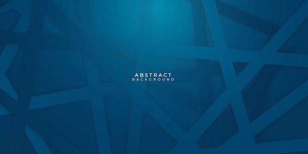 Nowoczesna siatkowa ciemnoniebieska abstrakcyjna prezentacja