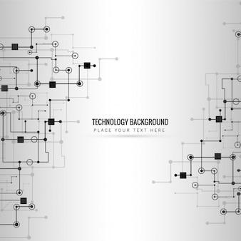 Nowoczesna technologia w tle
