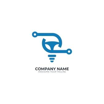 Nowoczesna żarówka z technologią logo samochodu kontrolnego