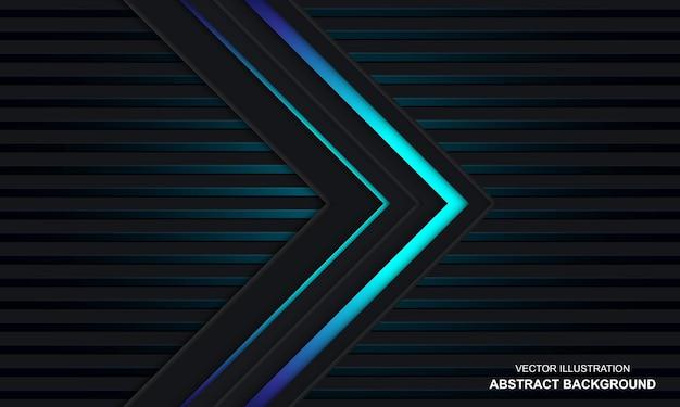 Nowoczesne abstrakcyjne czarno-niebieski kolor tła blue