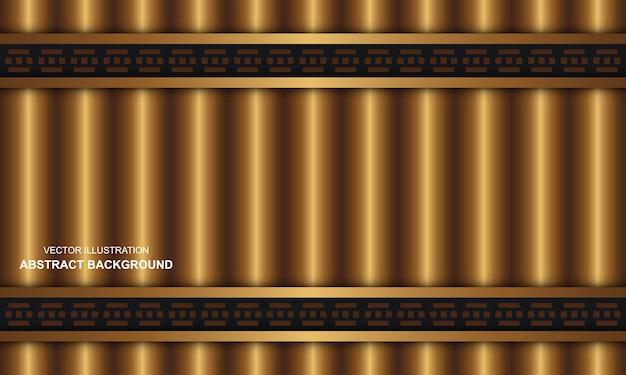 Nowoczesne abstrakcyjne tło czarne tło ze złotym luksusem