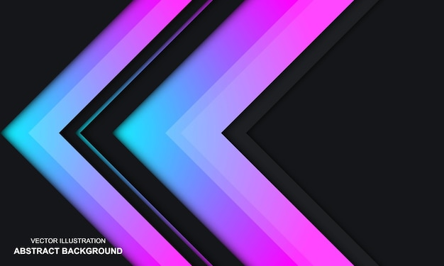 Nowoczesne abstrakcyjne tło czarny dop i kolorowy design