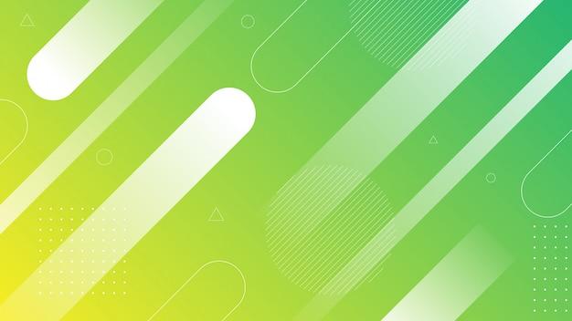 Nowoczesne abstrakcyjne tło z kolorami gradientu za pomocą elementów ukośnych i papercut.