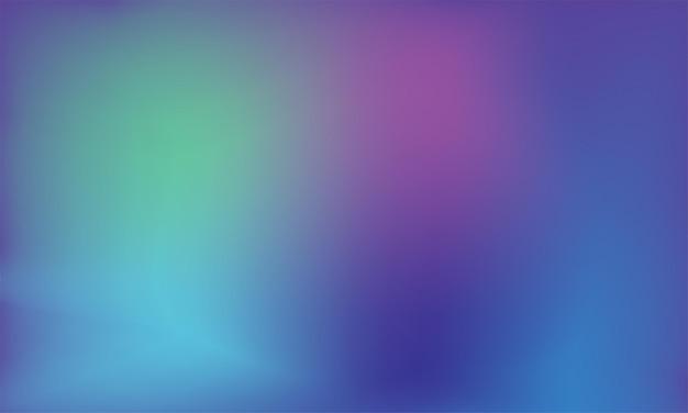 Nowoczesne abstrakcyjne tło z rozmytym kolorowym gradientem szablon projektu gładkich kolorów