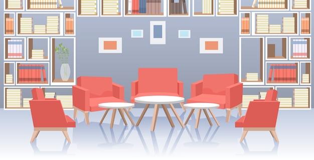 Nowoczesne biuro holu wnętrze holu dystans społeczny ochrona przed epidemią koronawirusa samoizolacja