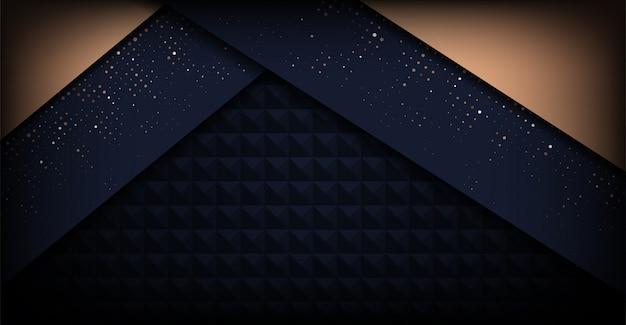 Nowoczesne ciemne minimalistyczne luksusowe tło