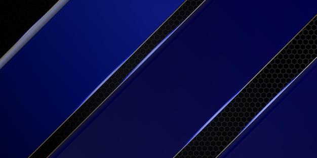 Nowoczesne ciemnoniebieskie abstrakcyjne tło
