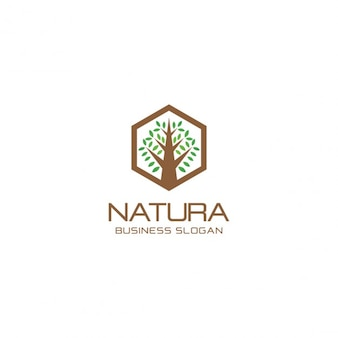 Nowoczesne drzewo logo