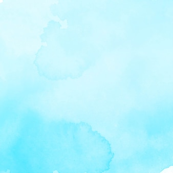 Nowoczesne eleganckie niebieskie tło akwarela