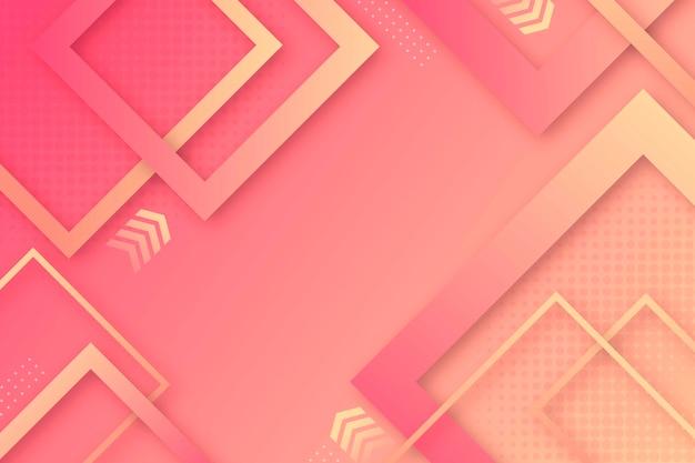 Nowoczesne geometryczne kształty tapety