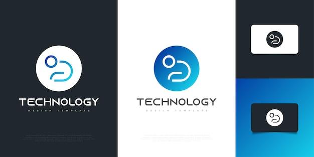 Nowoczesne i futurystyczne projektowanie logo litery d z koncepcją ludzi. d symbol twojej firmy firma i tożsamość korporacyjna