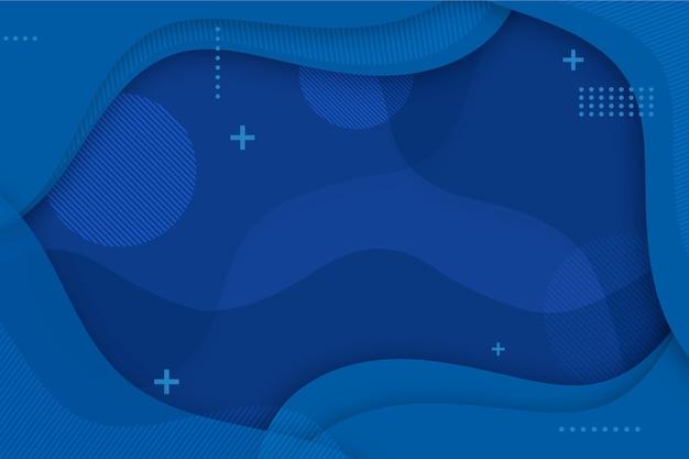 Nowoczesne klasyczne niebieskie tło
