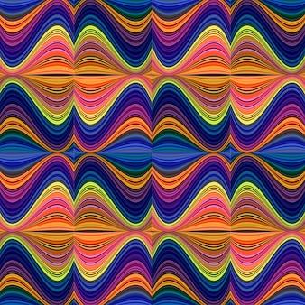 Nowoczesne kolorowe tło wzór