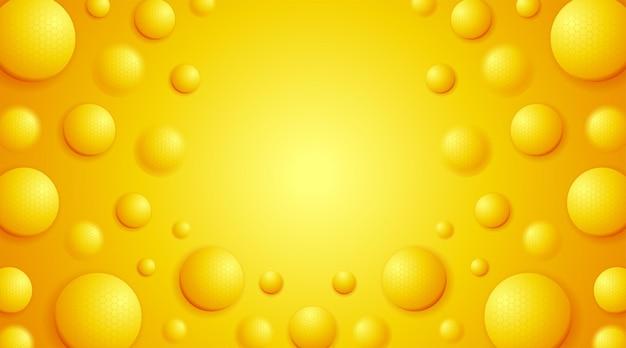 Nowoczesne kulki kreatywne pomarańczowe miękkie realistyczne kulki z cząsteczkami