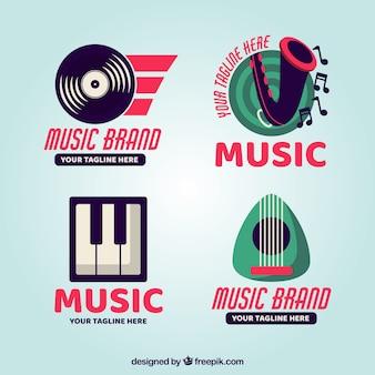 Nowoczesne logo muzyczne