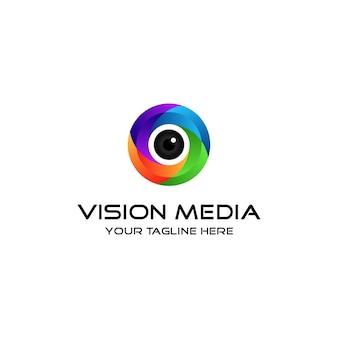 Nowoczesne logo wizji