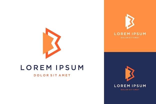 Nowoczesne logotypy lub monogramy lub inicjały liter bb