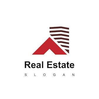 Nowoczesne mieszkanie nieruchomości projekt logo inspiracja