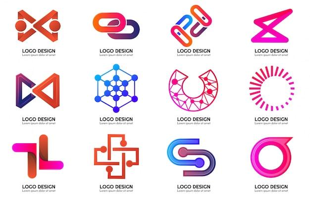 Nowoczesne, minimalne wektor logo baner, plakat, ulotka
