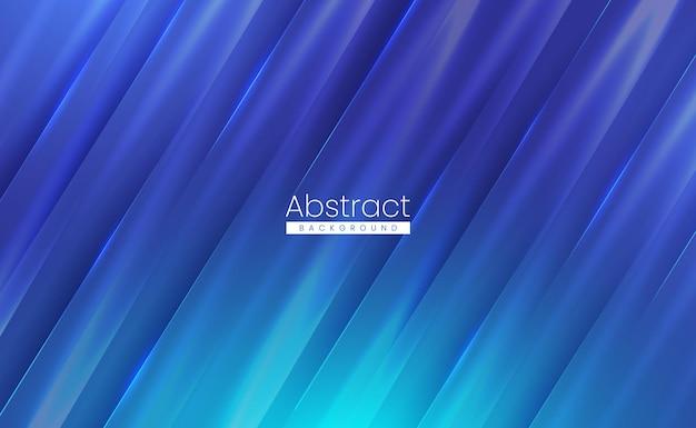 Nowoczesne niebieskie tło abstrakcyjne z miękką teksturowaną błyszczącą powierzchnią