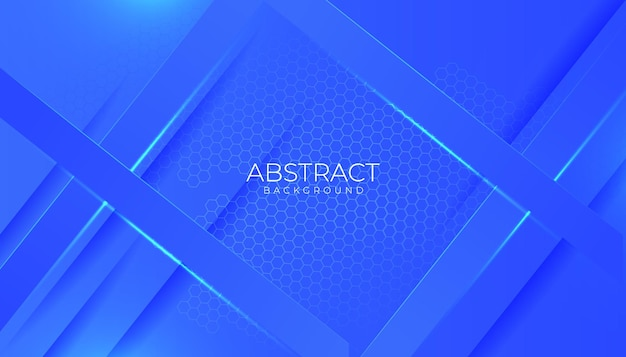 Nowoczesne niebieskie tło abstrakcyjne