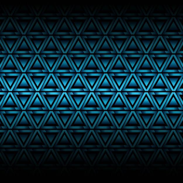 Nowoczesne niebieskie tło wzór