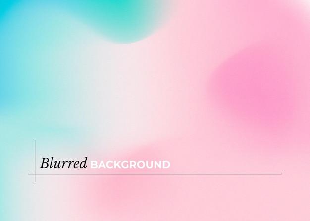 Nowoczesne niewyraźne tło z różowym i niebieskim gradientem
