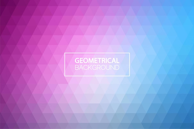 Nowoczesne pastelowe tło geometryczne gradientu