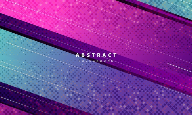 Nowoczesne streszczenie fioletowe tło wektor. projekt layoutu z dynamicznymi kształtami na imprezę sportową.