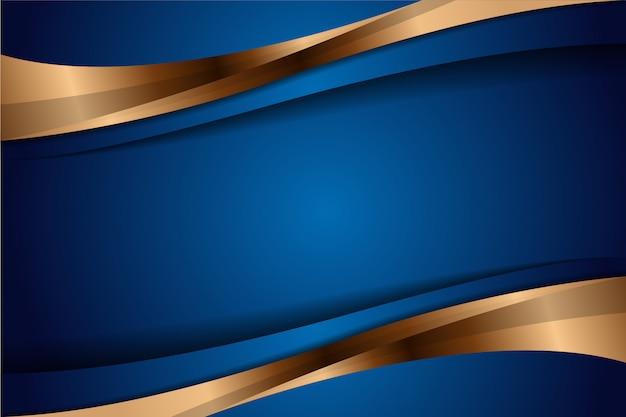Nowoczesne streszczenie geometryczny luksus z niebieskim i złotym s. zaproszenie element, okładka, tło. elegancka dekoracja