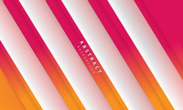 Nowoczesne streszczenie gradientowe pomarańczowe i białe tło. szablon projektu banera, plakatów, okładki itp.