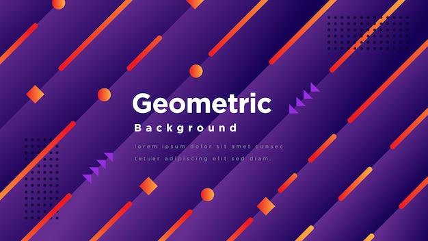 Nowoczesne tło geometryczne