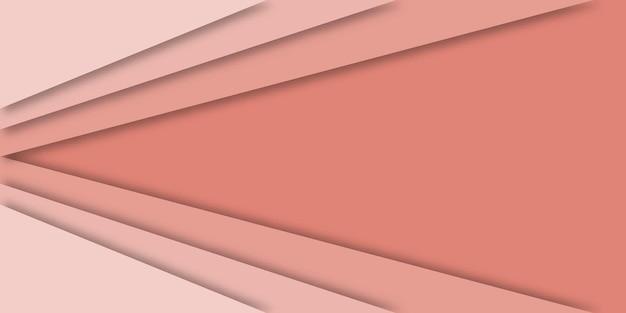 Nowoczesne tło geometryczny styl papercut.
