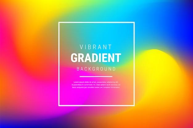 Nowoczesne tło tętniącego życiem efekt gradientu